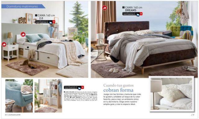 Dormitorios adultos good latest decoracion dormitorios for Conforama espejos dormitorio