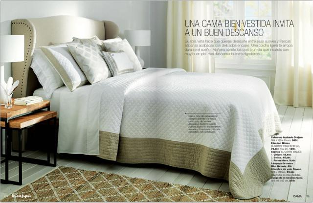 Cat logo de dormitorios de el corte ingl s 2016 - Ropa de cama en ingles ...