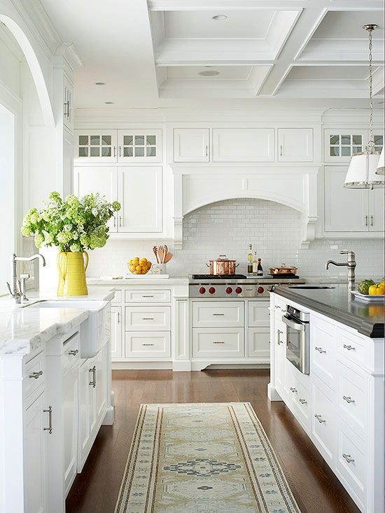 M s de 110 fotos de cocinas de madera 2018 for Cocinas de madera blanca
