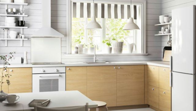 M s de 110 fotos de cocinas de madera 2018 for Cocinas claras modernas