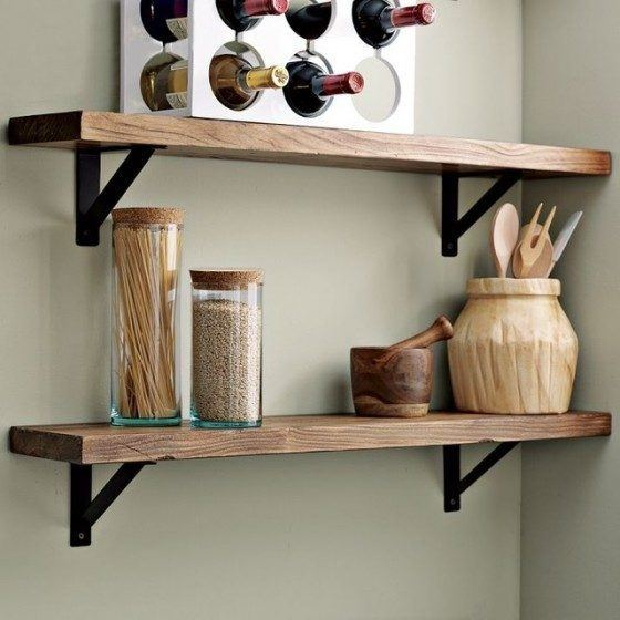 kitchens-small-with-wood shelf