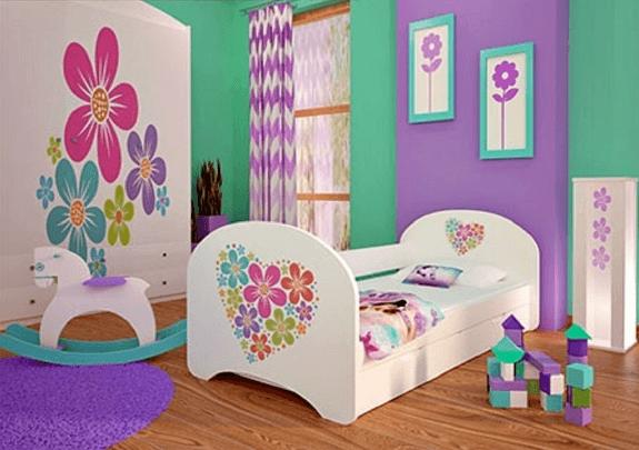 Colores para los dormitorios infantiles for Cuartos para ninas decoracion