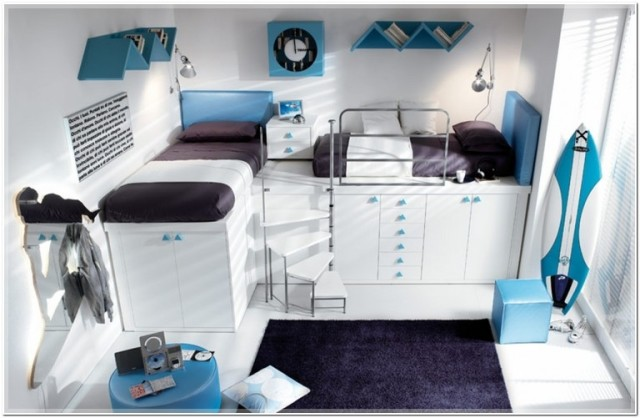Colores para cuartos juveniles habitaciones en 2018 - Habitaciones juveniles para chico ...