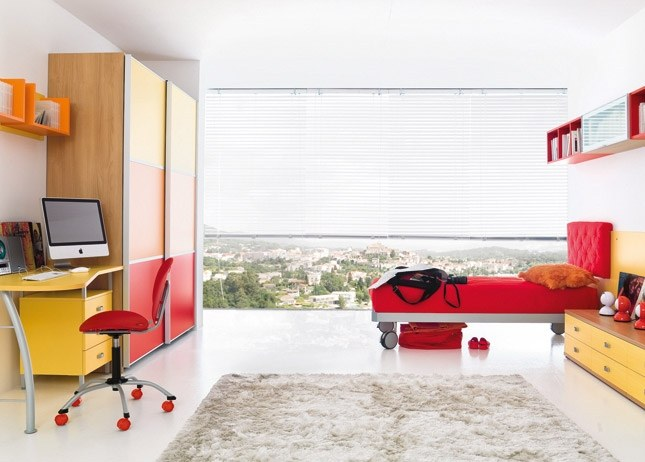 Dormitorio Rojo Y Blanco Juvenil: Dormitorios minimalistas blanco ...