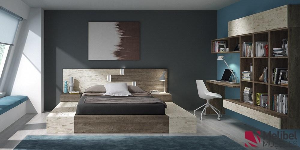 Colores para dormitorios de matrimonio juveniles y for Pintura de dormitorios modernos