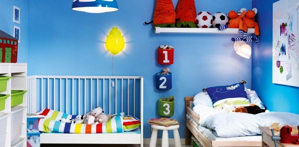 Colores para cuartos de ninos color azul - Ikea habitaciones de ninos ...