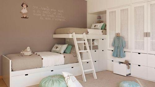 Los colores de cuartos para ni os y ni as de moda en 2018 for Colores de moda para pintar habitaciones