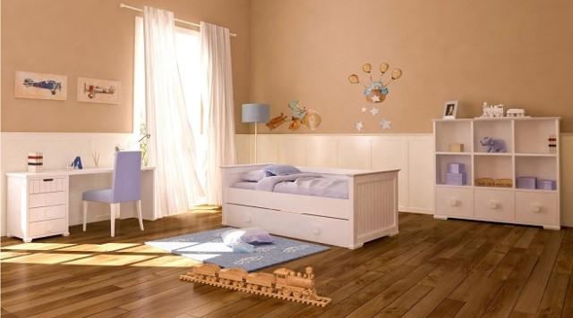 Los colores de cuartos para ni os y ni as de moda en 2018 for Habitacion nino y nina