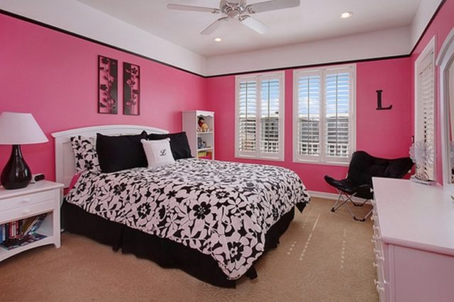 pink black and white bedroom decoraci 243 n y colores para rec 225 maras espaciohogar 19480