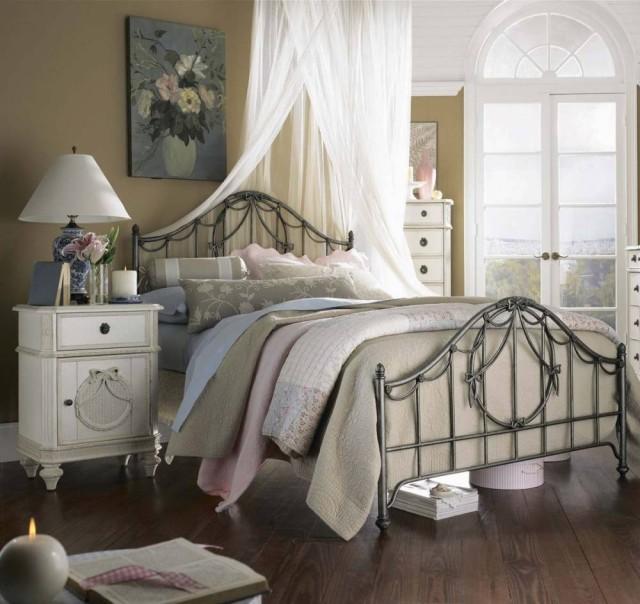 dormitorios-estilo-vintage-hierro