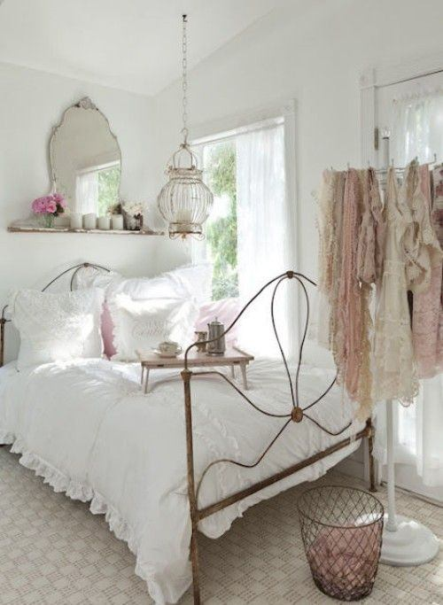 C mo decorar dormitorios vintage 2016 con estilo fotos - Decoracion vintage dormitorio ...
