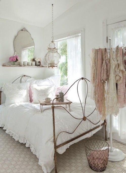 dormitorio-estilo-vintage-pañuelos