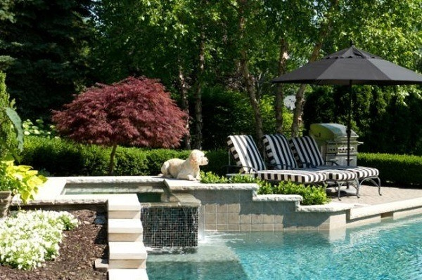 Decorate-a-garden-with-pool