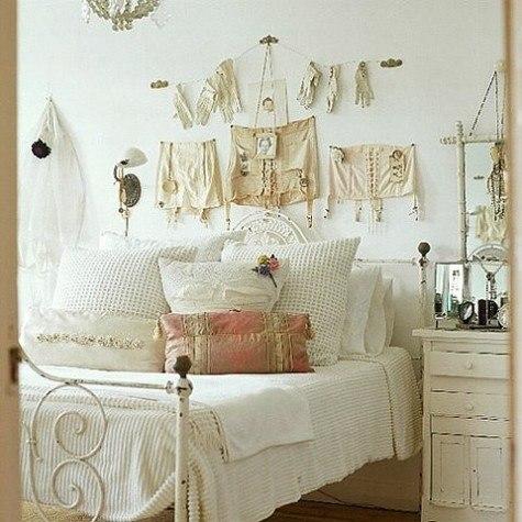C mo decorar dormitorios vintage 2018 con estilo fotos for Dormitorio vintage moderno