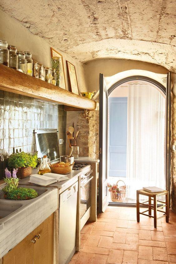 45 fotos de cocinas antiguas o cocinas vintage 2019 - Restaurar casas antiguas ...