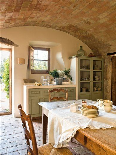 De 45 fotos de cocinas antiguas 2018 for Casas viejas remodeladas
