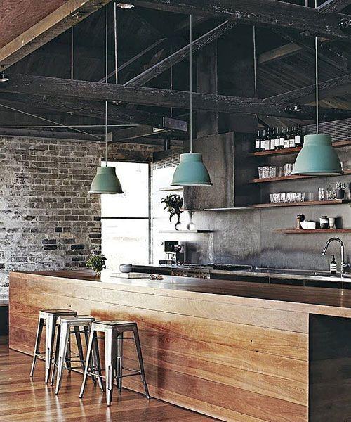 fotos-con-ideas-de-cocinas-de-obra-que-te-van-a-encantar-cocina-con-colores-oscuros