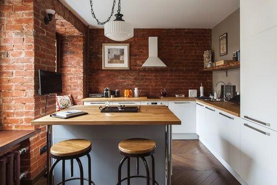 fotos-con-ideas-de-cocinas-de-obra-que-te-van-a-encantar-cocina-con-ladrillo-rojo