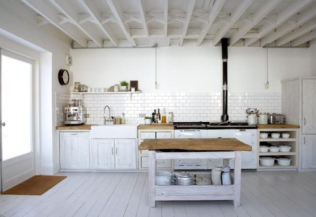 De 100 fotos con ideas de cocinas de obra que te van a - Cocinas rusticas de obra pequenas ...