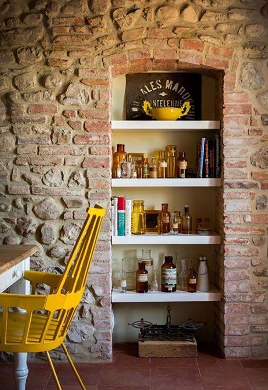 fotos-con-ideas-de-cocinas-de-obra-que-te-van-a-encantar-cocina-pared-piedra