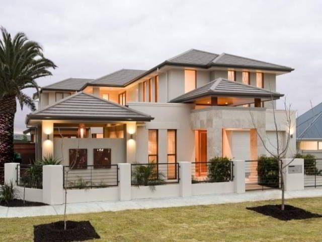 Fotos fachadas casas mas bonitas modernas del mundo casa - Fotos casas bonitas ...