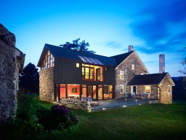 M s de 200 fotos de fachadas de casas modernas y bonitas - Casas de campo bonitas ...