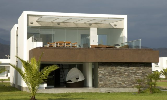 De 200 fotos de fachadas de casas modernas y bonitas del for Fotos de fachadas de casas andaluzas