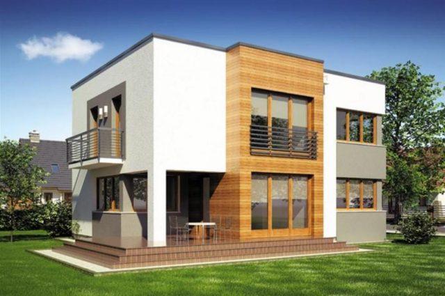 M s de 200 fotos de fachadas de casas modernas y bonitas for Fachadas modernas de casas de dos plantas
