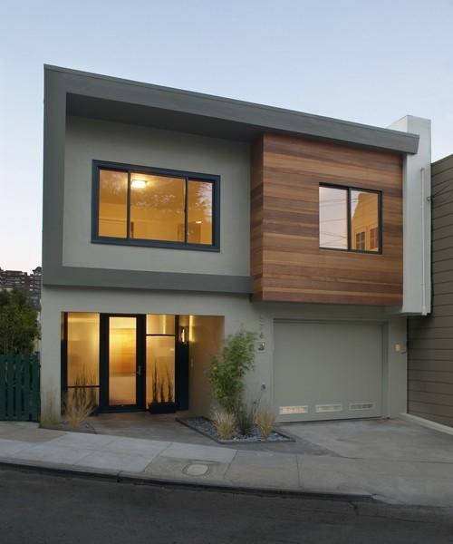 De 200 fotos de fachadas de casas modernas y bonitas del - Casas de madera y mas com ...