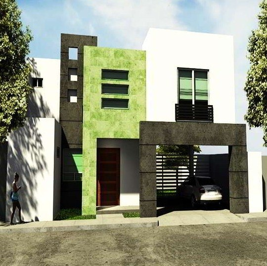 photos-facades-houses-more-beautiful-modern-of-the-world-modern-green-white
