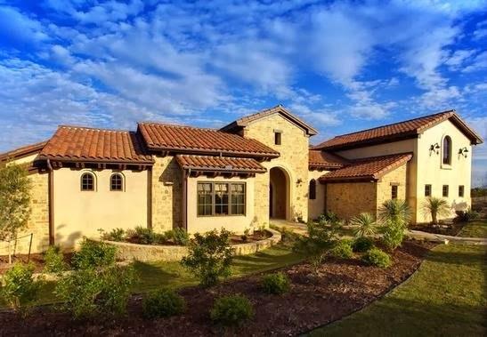 De 200 fotos de fachadas de casas modernas y bonitas del for Casa de una planta rustica