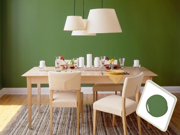ideas de colores para el comedor