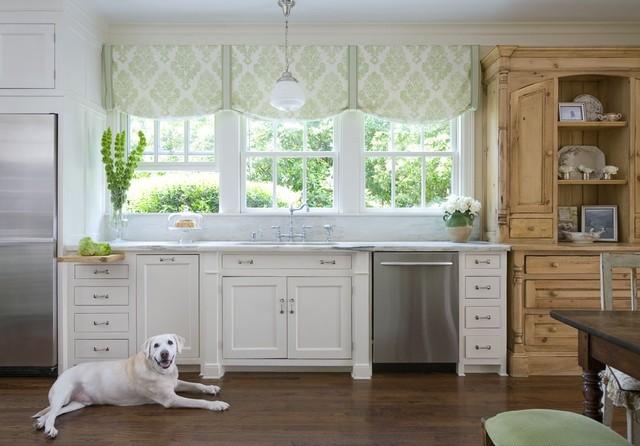 ideas-para-decorar-una-cocina-estilo-vintage-cocina-madera