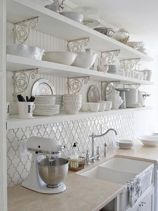 ideas-para-decorar-una-cocina-estilo-vintage-color-blanco