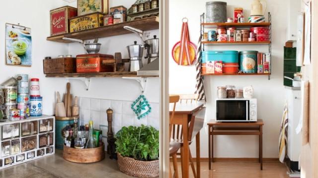 ideas-para-decorar-una-cocina-estilo-vintage-despensa