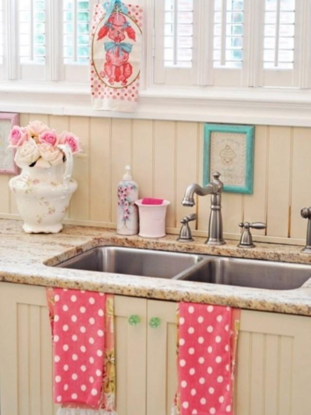 ideas-para-decorar-una-cocina-estilo-vintage-grifo-antiguo