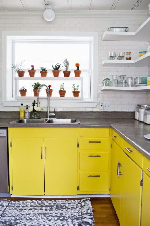 ideas-para-decorar-una-cocina-estilo-vintage-tiradores-metalicos