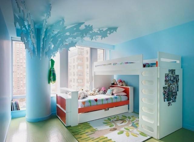 Los colores de cuartos para niños y niñas de moda en 2018