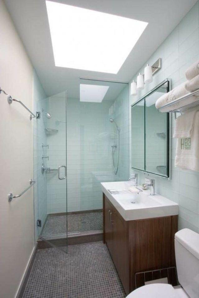 M s de 50 fotos con ideas para duchas de obra 2018 - Duchas modernas para banos ...