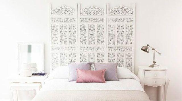 De 100 fotos de cabeceros originales para cama 2018 - Cabeceros de cama con fotos ...