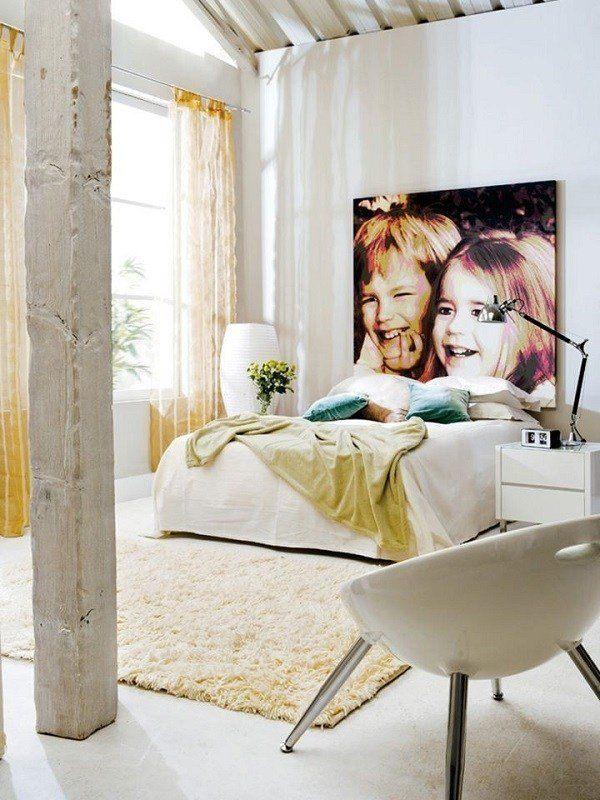 M s de 100 fotos de cabeceros originales para cama 2019 - Laminas decorativas para pared ...