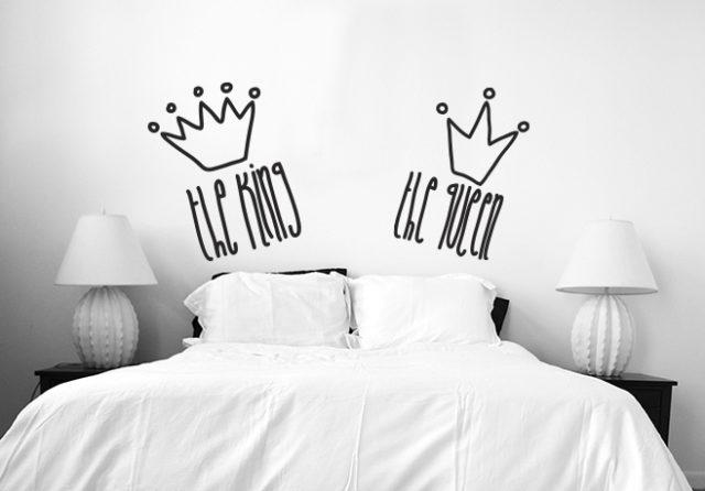 M s de 100 fotos de cabeceros originales para cama 2018 - Vinilos cabeceros de cama ...