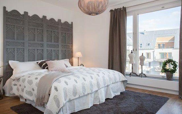 De 100 fotos de cabeceros originales para cama 2018 - Decoracion cabeceros cama ...