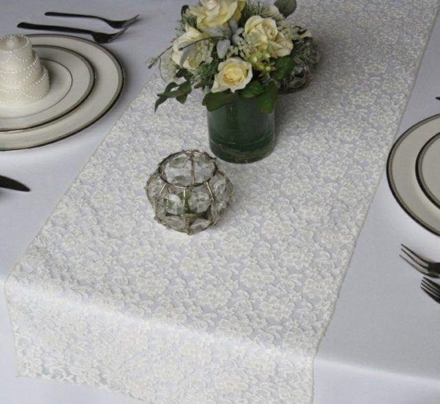 Más de 100 fotos con ideas de Caminos de Mesa para decorar la mesa ...