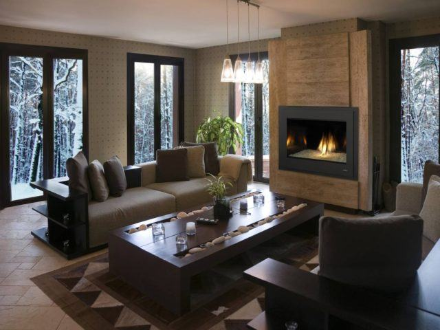 chimeneas-modernas-decoracion-marron