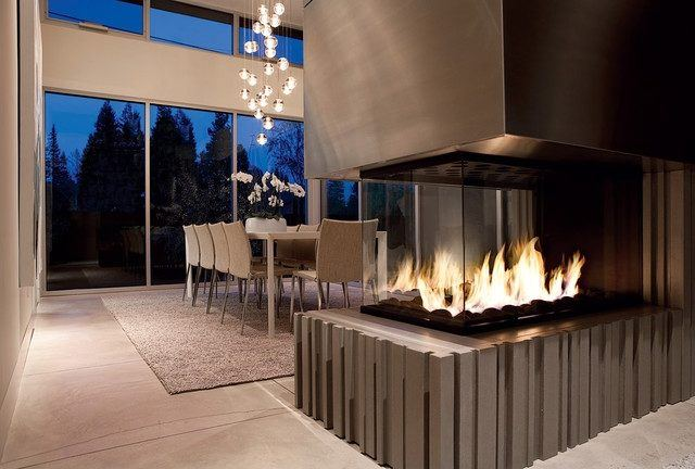 Fireplaces-modern-in-glass-urn