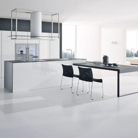 kitchens-white-spacious-and-bright-kitchen-white-modern-black-table