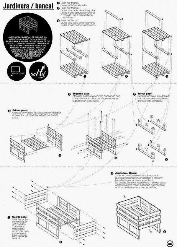 como-hacer-muebles-con-palets-jardinera-paso-a-paso