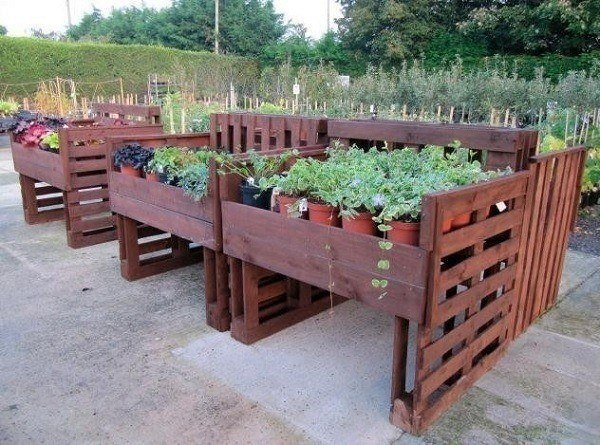 como-hacer-muebles-con-palets-jardinera