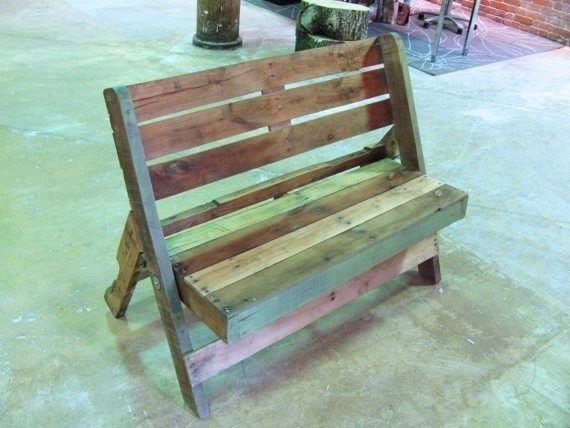 De 100 ideas de c mo hacer muebles hechos con palets - Hacer muebles con pales ...